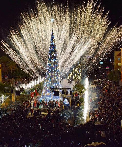 10 Gorgeous Christmas Trees In Lebanon