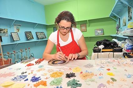 Dana Adada's Mosaic Work