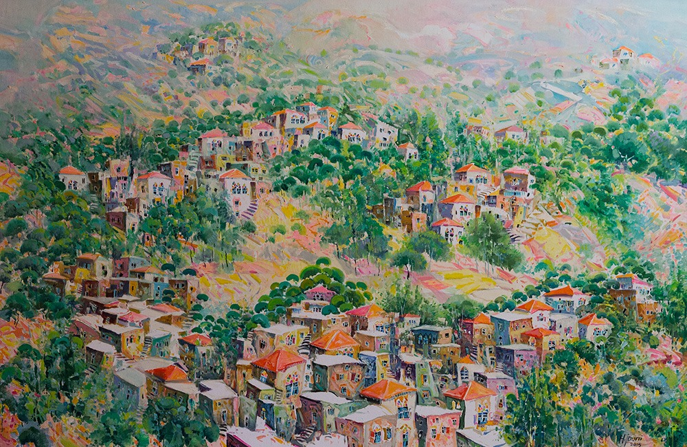 Hassan Jouni's artwork