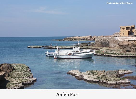 Anfeh's port