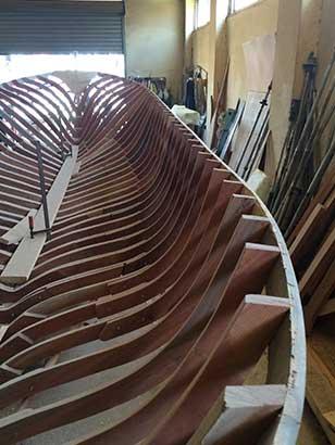 Boat builder in Saida