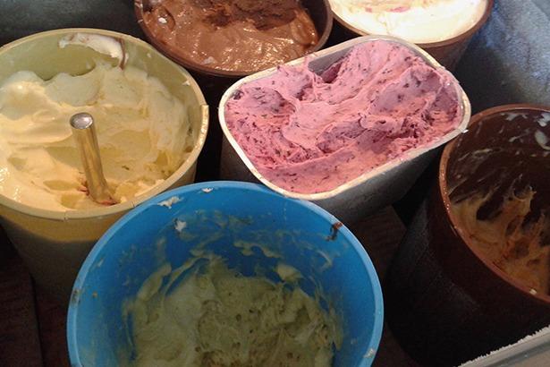 Arabic ice cream