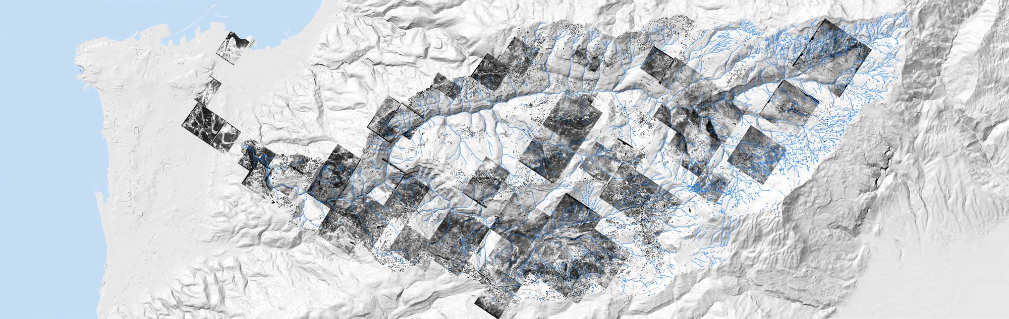"""Hala Younes's """"Beirut River watershed"""""""