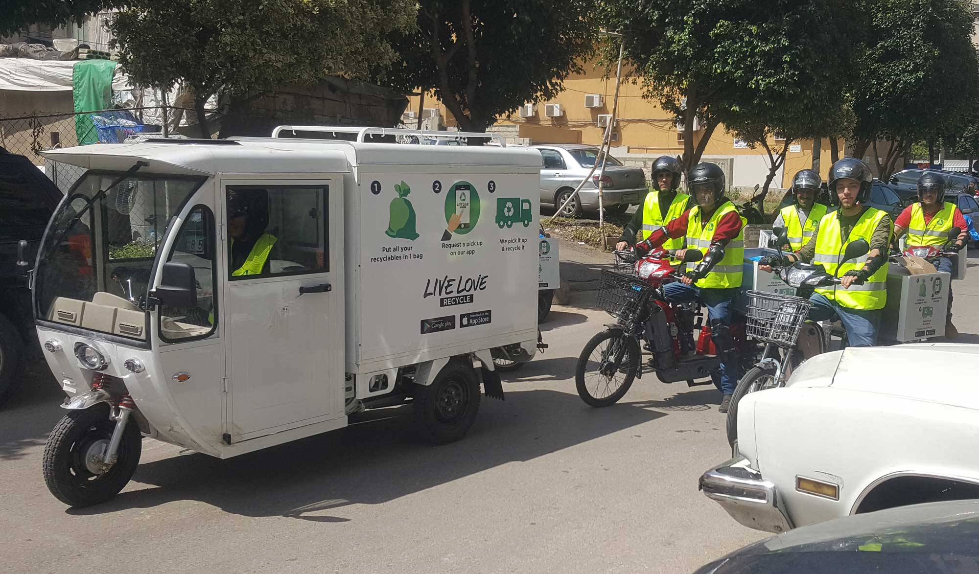 Live Love Recycle Team