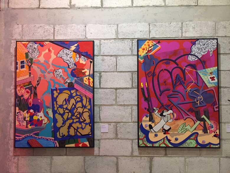 Some of George Morton Clark's artwork