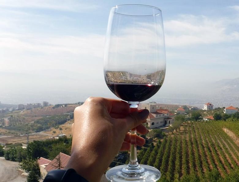 Qab Elias Lebanon Traveler Wine